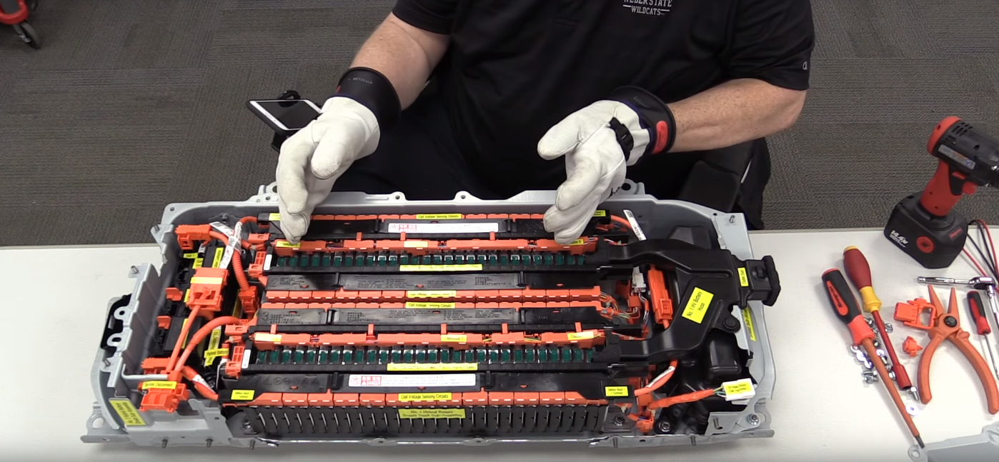 The Center Of Lithium Ion Battery Stacks