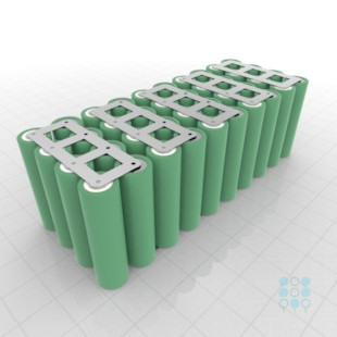 10s4p Battery Pack With Samsung 25r5 Cells 10ah 80a 36v