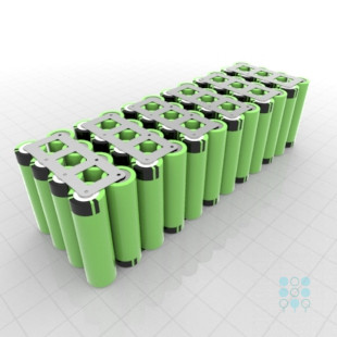 12s4p Battery Pack With Panasonic B Cells 13 4ah 19 5a