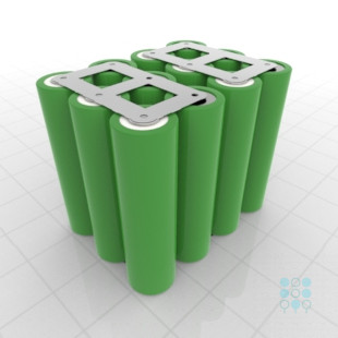 Lg Li Ion Battery >> 4s3p Battery Pack With Lg Mj1 Cells 10 5ah 30a 14 4v Cuboid Shape Customizable