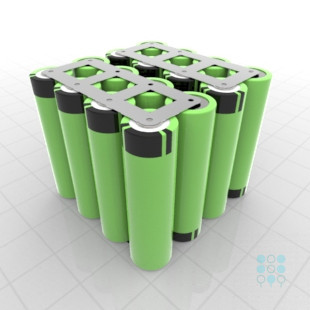 4s4p Battery Pack With Panasonic B Cells 13 4ah 19 5a