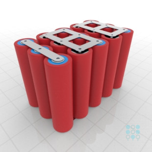 5s3p Battery Pack With Sanyo Ga Cells 10 35ah 30a 18v
