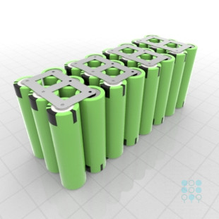 8s3p Battery Pack With Panasonic Pf Cells 8 64ah 30a 28