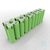 10s2p Battery Pack With Samsung 25r5 Cells 5ah 40a 36v