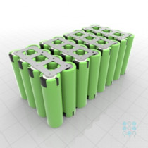 7s4p Battery Pack With Panasonic Pf Cells 11 52ah 40a